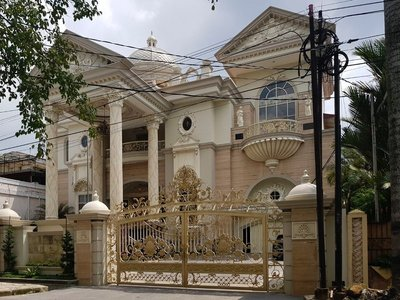 One of the mansions on Kartini Road, Medan
