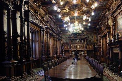 Interior Pelés Castle, Sinaia