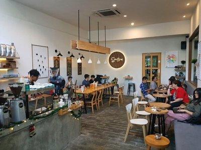 Sangrai Coffeeshop, Medan