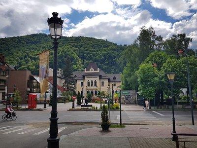 Center of town, Sinaia