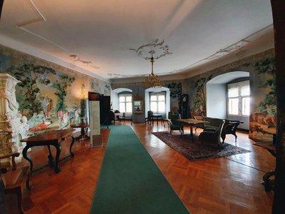Interior Ptuj Castle, Slovenia