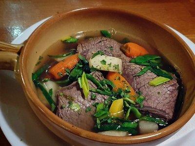 Tafelspitz, beef stew