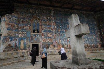 Frescoes, Voronet Monastery