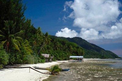 View from Koranu Fyak guest house, Kri island, Raja Ampat