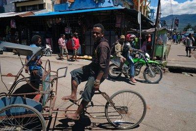 Downtown Wamena, Papua