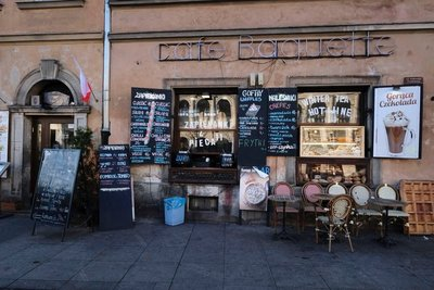 Cafe, Old Town, Warsaw