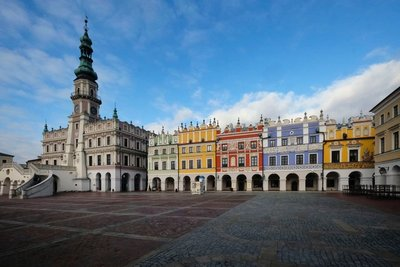 Great Market Square, Zamosc, Poland