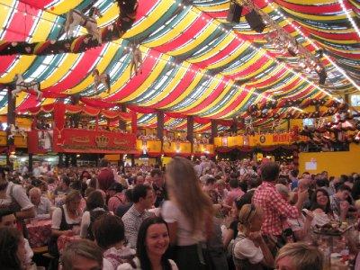 Oktoberfest Hippodrome tent