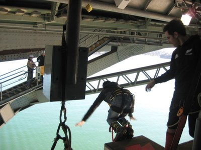 Bungee Jumping of the Harbour Bridge