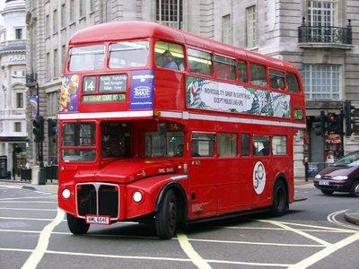 Red Double Decker Tour Bus