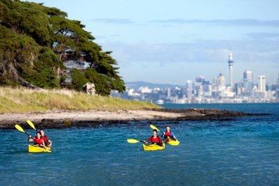 Kayaking in Mission Bay