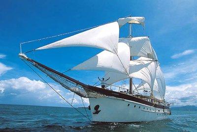 Mana Island Day Cruise Ship