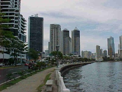 The View From Avenida Balboa