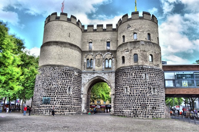 Hahnentorburg. City gate.