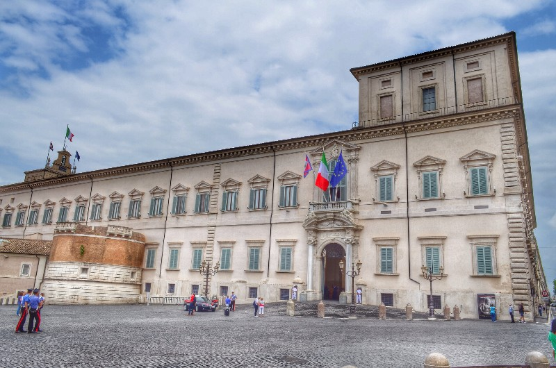 Quirinale palace. HDR.