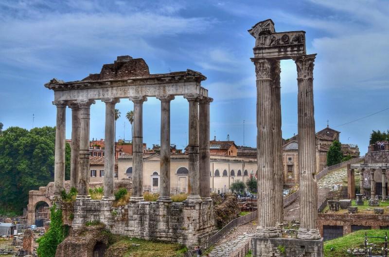 Roman ruins.