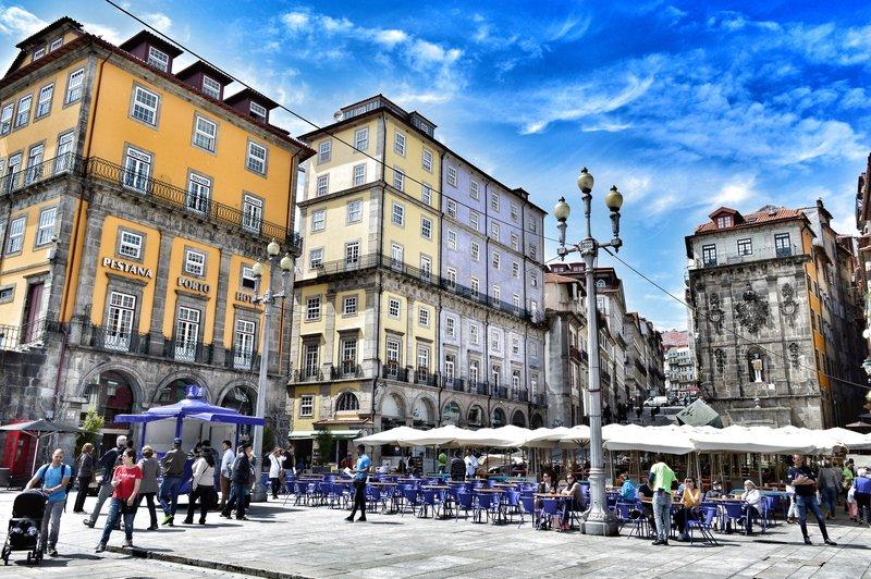 Ribeira square.
