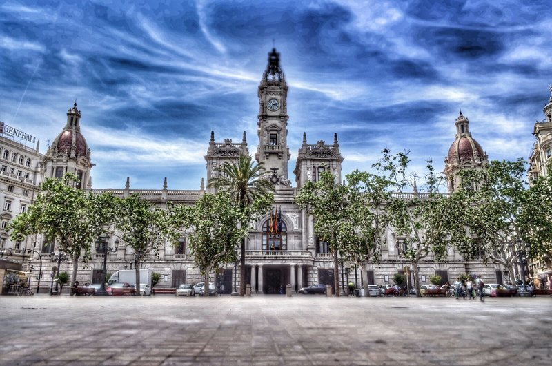 Valencia's town hall.