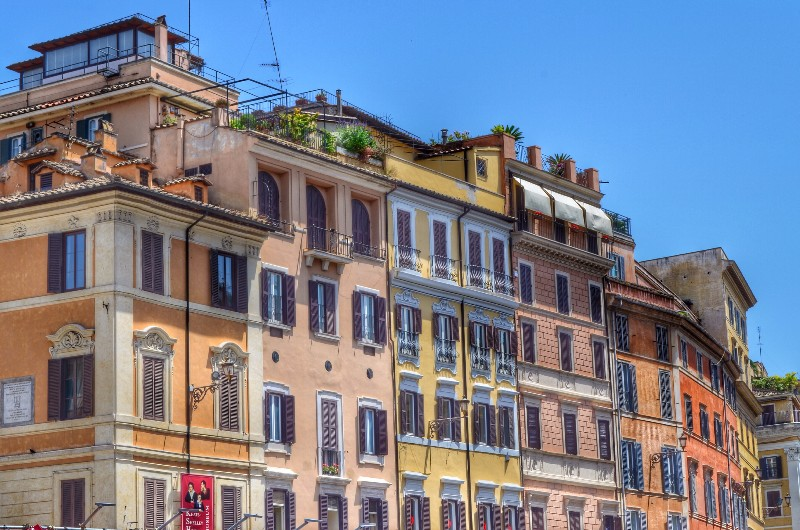 Colours of Rome. HDR.