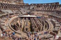 Colosseum interior. HDR.