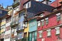 Colourful Ribeira district.