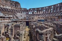 Colosseum interior grounds. HDR.