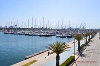 Valencia port.