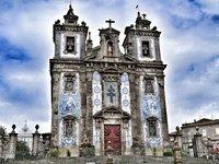 Landmark church on Catarina street.