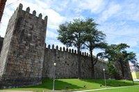 City walls.