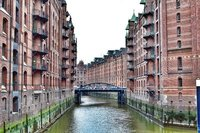 Warehouses of Hamburg.