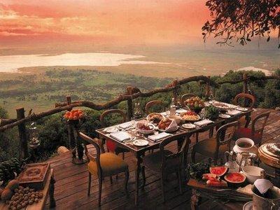 Breakfast in South Africa