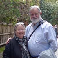 Sally and David in Kyoto