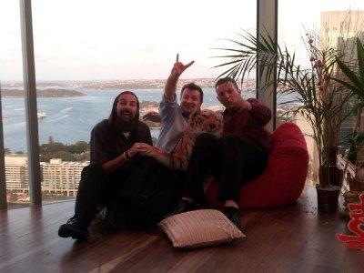 Daz, Jules, Wayne and Mr T