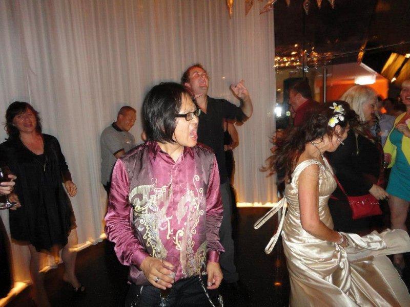 Ed on the dance floor