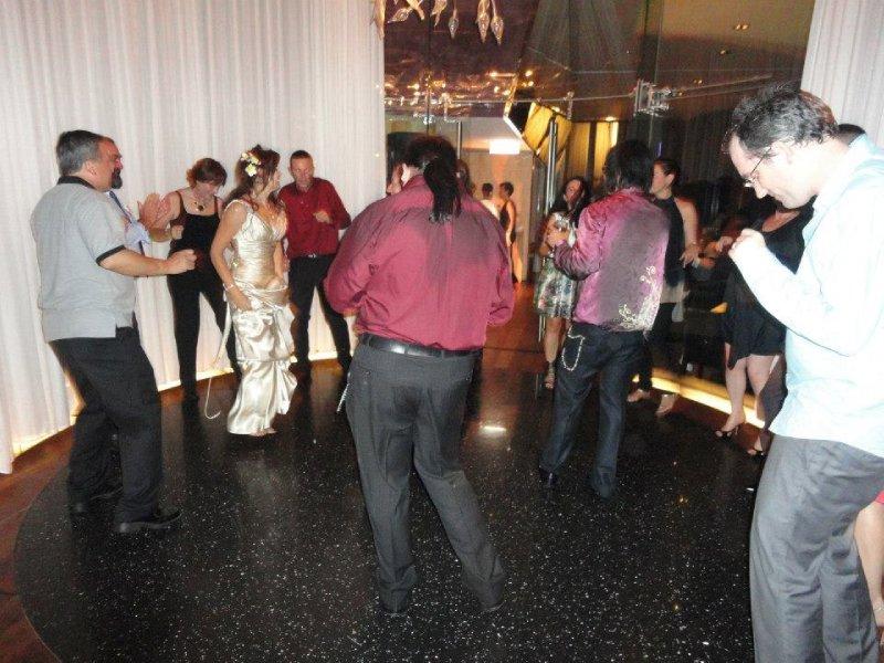 Eric on the dance floor