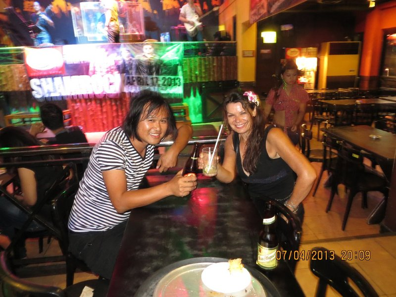 At the Cowboy Bar in Malate