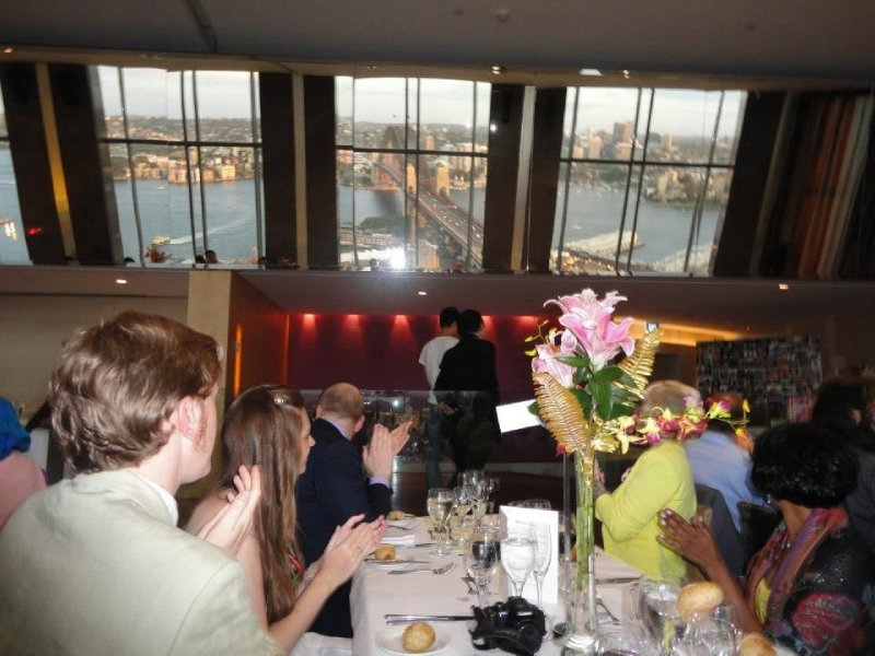 UK Table at Wedding Reception