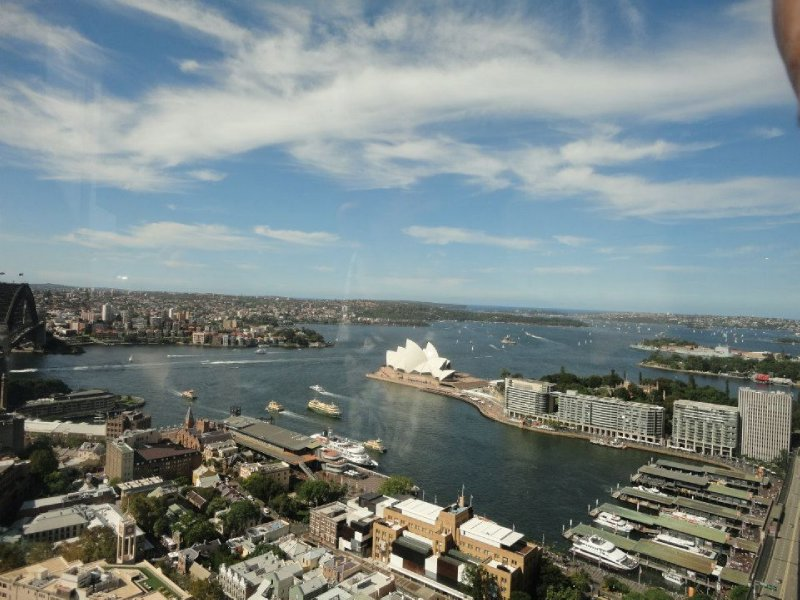 View from Shangri-La Sydney
