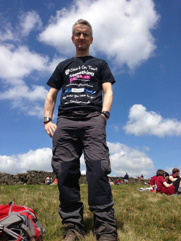 3 Peaks, Wernside - T-Shirt On Tour