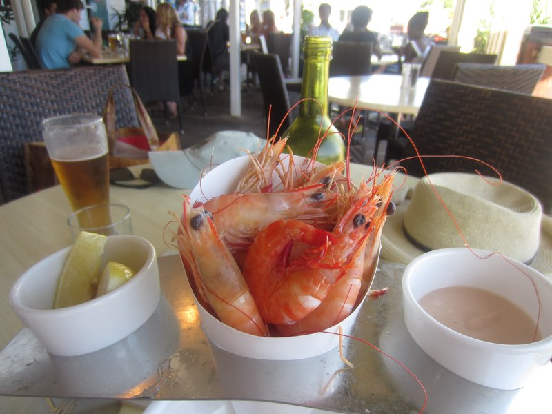 Fresh Prawns & Beer