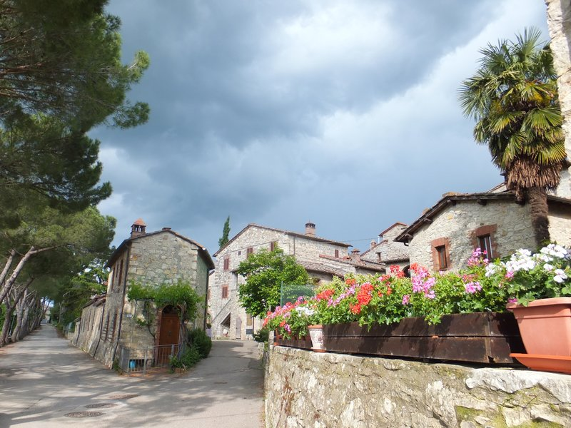 San Sano, Home of Castellare de Noveschi, a hydro massage using wine therapy!