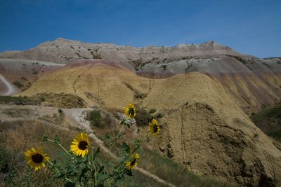 SD Badlands Yellow Mounds 1