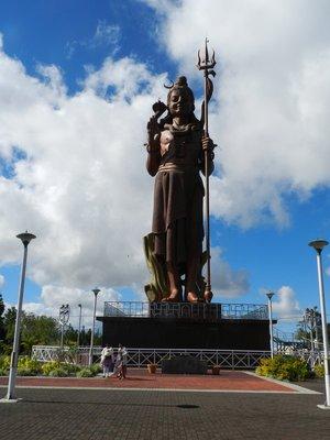 Größte Shiva Statue von Mauritius in Grand Bassin