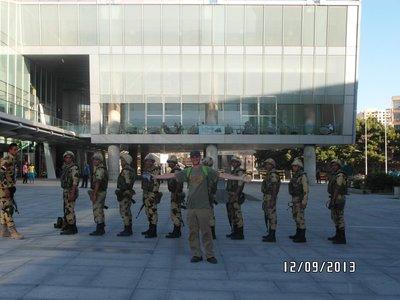 Alexandria soldiers