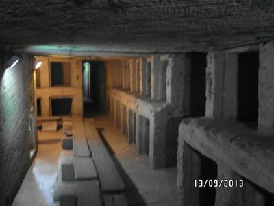 Alexandria Underground Cementery