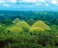 chocolates hill, Bohol