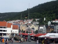 Bergen, Vågen and Fish Market