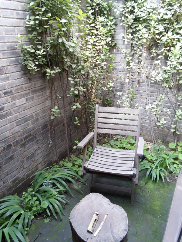 My private courtyard