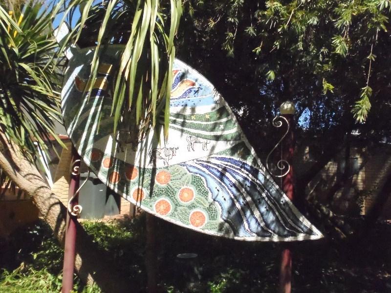 Harvey leaf mosaic