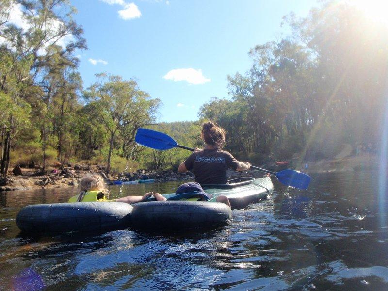 Tube kayaking?!?